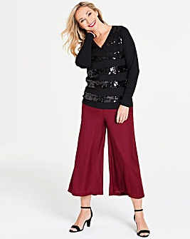 Wide Leg Culottes Regular