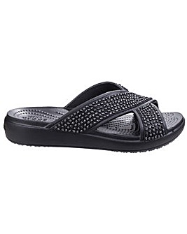 Crocs Sloane Embellished Cross Strap