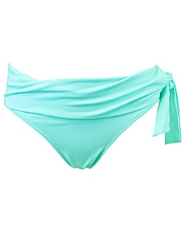 Pour Moi Getaway Fold Over Tie Brief