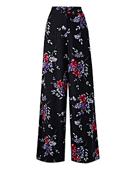 Tall Floral Superwide Trousers