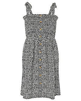 Accessorize DOTTY PRINT BANDEAU DRESS