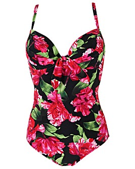 Pour Moi Orchid Luxe Padded Underwired Swimsuit