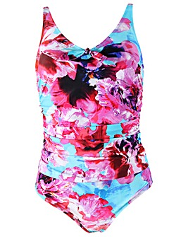 Pour Moi Heatwave Scoop Neck Control Swimsuit