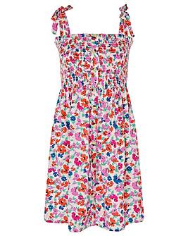 Accessorize FLORAL BANDEAU DRESS