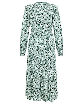 Monsoon Frida Floral Print Dress