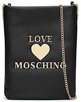 Love Moschino Small Heart Cross-Body Bag