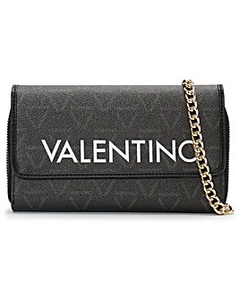 Valentino Bags Liuto Pebbled Logo Pochette