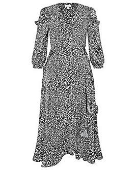 Monsoon Ditsy Print Midi Dress