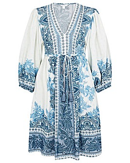 Monsoon Roxanna Kaftan Midi Dress