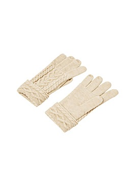 Monsoon Cable Knit Gloves
