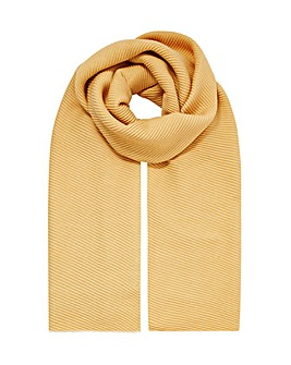 Monsoon Pleated Midweight Scarf