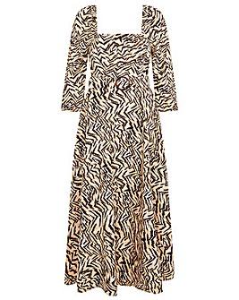 Monsoon Angelina Square Neck Dress
