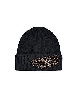 Monsoon Embellished Knit Hat