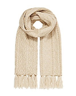 Monsoon Cable Knit Scarf