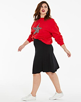 Jersey Skater Skirt