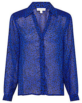 Monsoon Ditsy Floral Longline Blouse