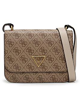 Guess Noelle Repeat Logo Mini Crossbody Bag