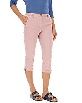 Comfort Stretch Crop Chino Trousers