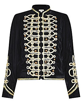 Monsoon Embroidered Military Jacket