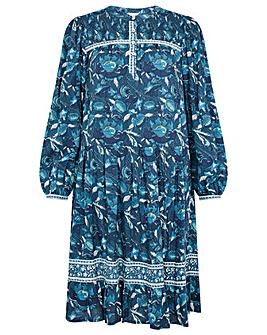 Monsoon Woodblock Print Dress