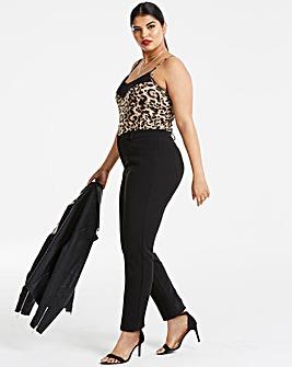 Black Kate Everyday Slim Trousers