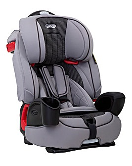 Graco Nautilus Group 1/2/3 Car Seat - Steeple Gray