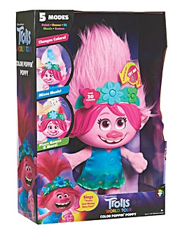 Trolls World Tour Colour Poppin Poppy.