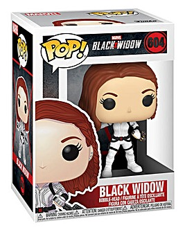POP! Marvel: Black Widow White Suit
