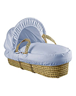 Clair De Lune Cotton Palm Basket - Blue