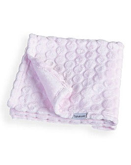 Clair De Lune Marshmallow Pram Blanket