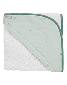 Clair De Lune Lullaby Stars Hooded Towel