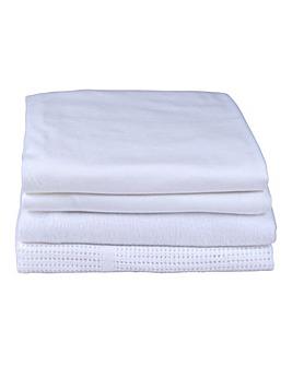 Clair De Lune 4pc Cot Bed Bedding Set