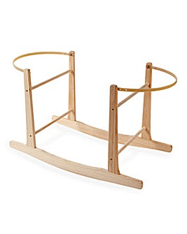 Clair De Lune Wooden Rocking Stand - Natural