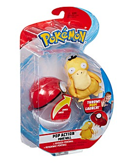 Pokemon Pop Action Poke Ball Psyduck