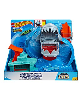 Hot Wheels City Robo Shark Playset