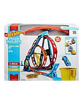 Hot Wheels Track Builder Triple Loop Kit