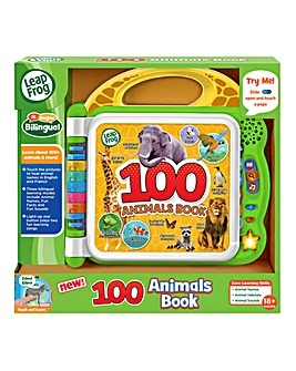 LeapFrog 100 Words Animal Book