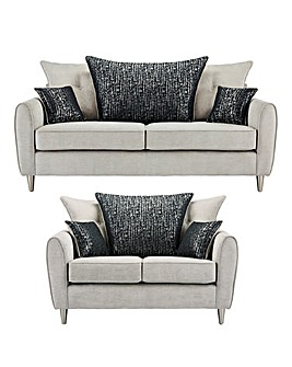Melody 3 plus 2 Seater Sofa