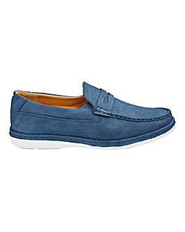 Cushion Walk Slip On Loafers Wide Fit
