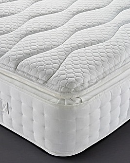 Silentnight Mirapocket Superior 2000 pocket Latex Pillowtop Mattress