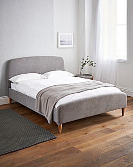 Anna Kingsize Fabric Bedstead