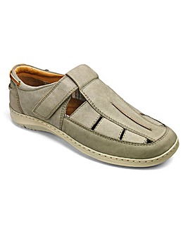 Comfort Sandalised Shoe Extra Wide Fit