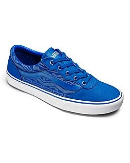 Vans Milton Blue Lace-Up Casual Shoes