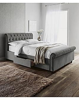 Kingsley 2Dr Bed Memory Mattress