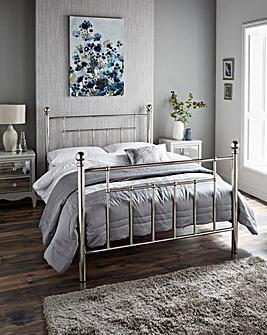 Ledbury Metal Bed Memory Mattress