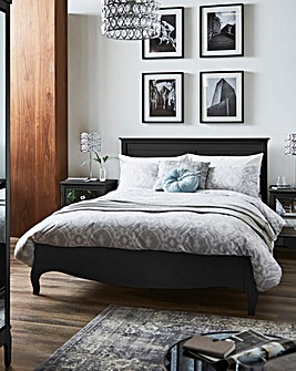 Elise Kingsize Bed with Memory Mattress