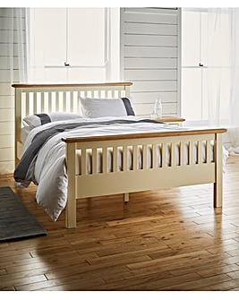 Taunton Double Bed with Memory Mattress