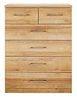 Riga 4+2 Drawer Chest