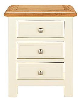 Taunton 3 Drawer Bedside Table