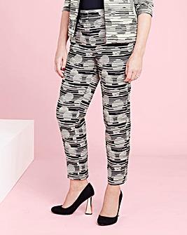 Lorraine Kelly Spot Trousers